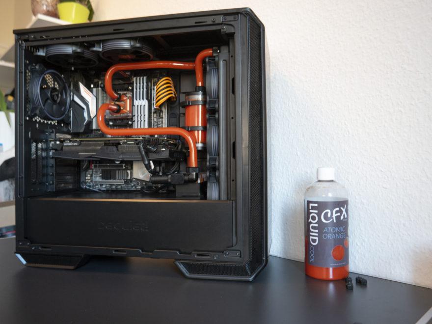 BeQuiet Darkbase 700 mit Wasserkühlung