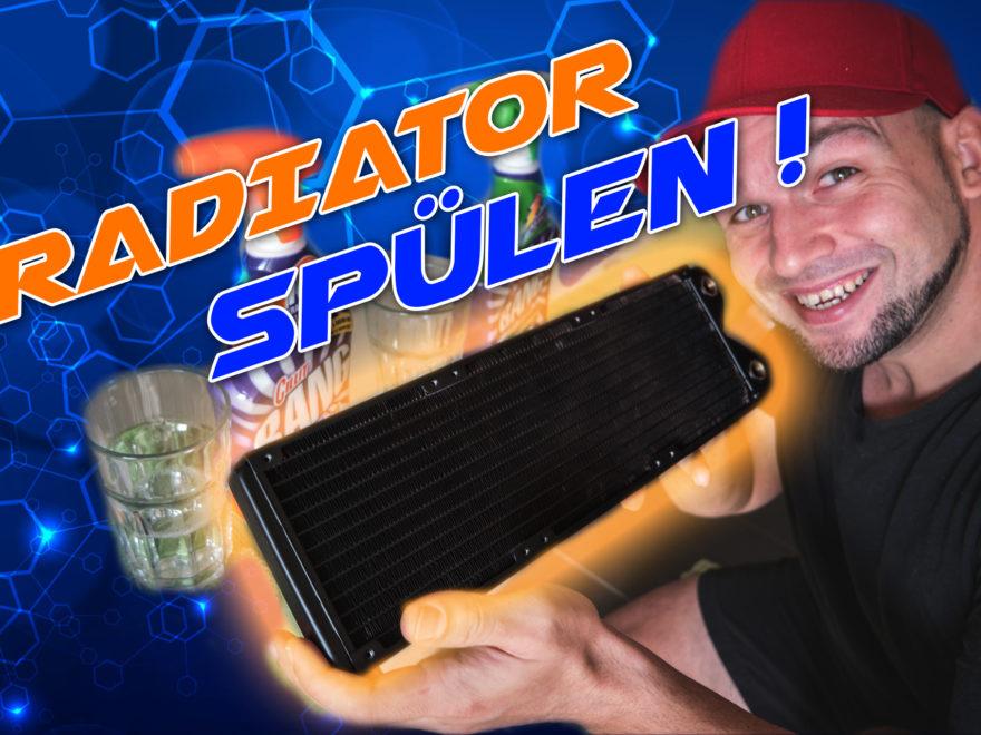 Einen neuen Radiator Spülen
