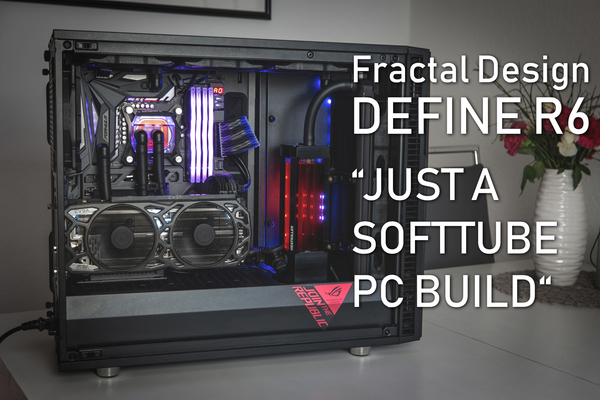 Fractal Design Define R6 mit Wasserkühlung