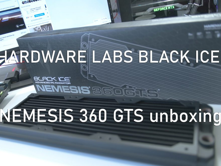 Hardware Labs Black Ice NEMESIS 360 GTS unboxing